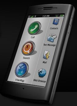 Navigation smartphone runs Linux