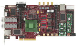 FPGA-based XAUI interface supports Linux