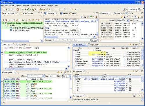 IDE targets ARM Cortex-A development