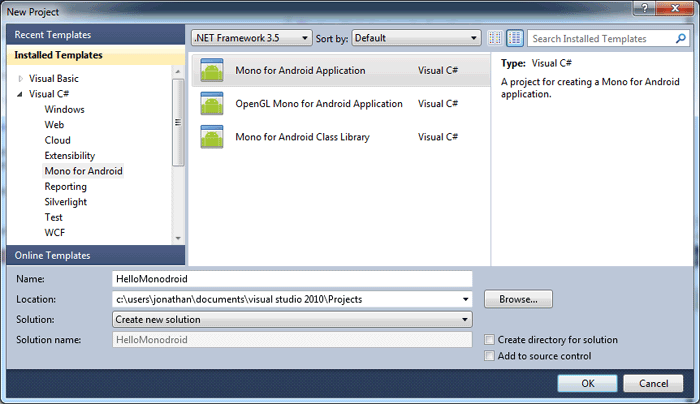 Mono for Android lets Visual Studio devs get their droid on