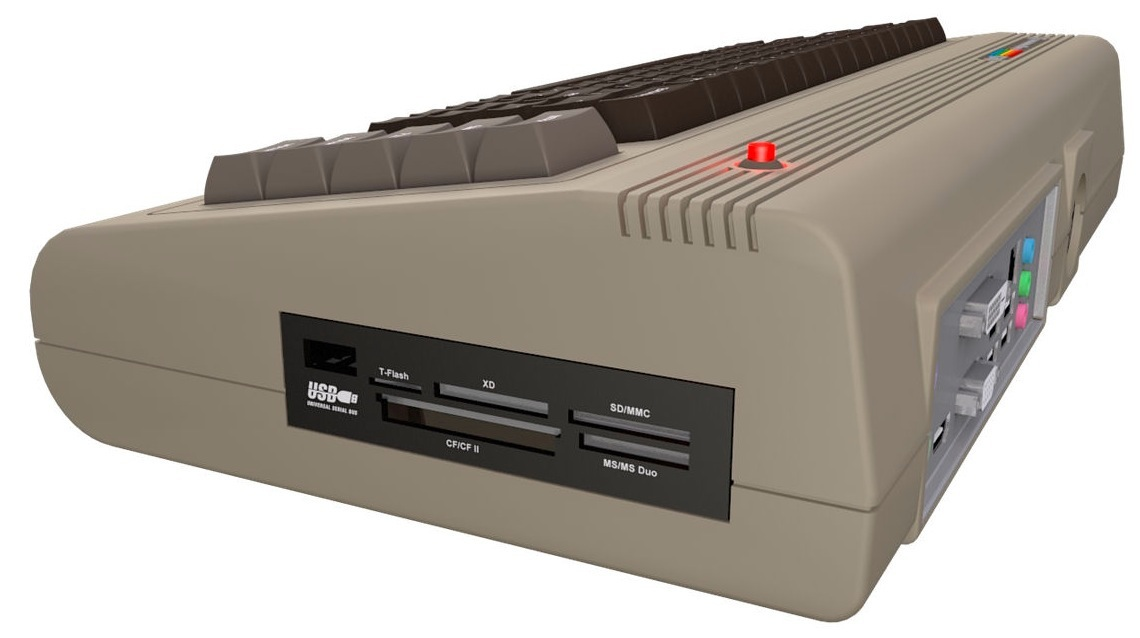 Atom-powered Commodore 64 is no April Fools